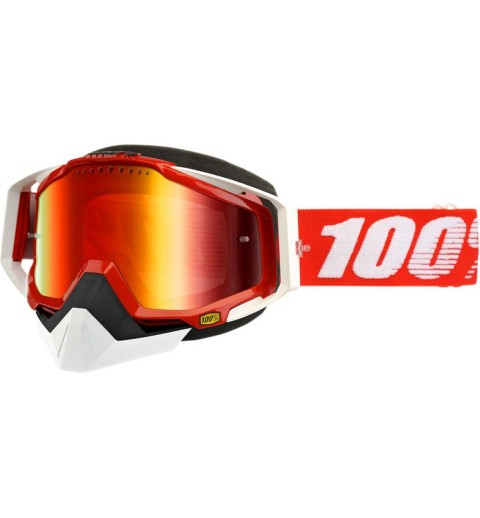 GAFAS 100% RACECRAFT SNOW