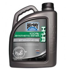 ACEITE BEL RAY H1-R RACING 2T 100% SINTETICO (MOROTES MEZCLA 2T ) 355 ML