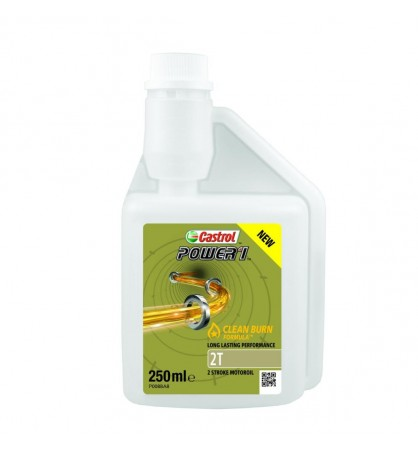 ACEITE MOTOR 2T CASTROL POWER 1 (MEZCLA) 250 ML