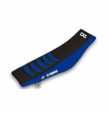 FUNDA DE ASIENTO DOBLE GRIP 3 YAMAHA BLUE / BLACK
