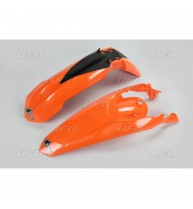 KIT GUARDABARROS  FRONTAL Y TRASERO KTM EX