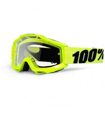 GAFAS 100%  ACCURI REFLEX BLUE W/ CLEAR LENS