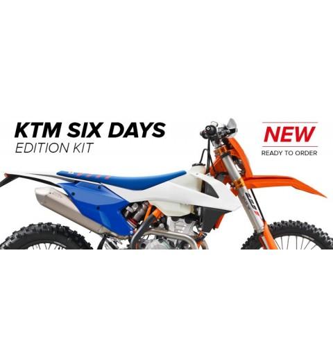 KIT PLASTICA EDICION LIMITADA POLISPORT  SIX DAYS FRANCIA 2017 KTM 17-18