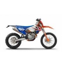 KIT ADHESIVOS COMPLETO KTM SX EXC 17-18.. SIX DAYS 2017 FRANCIA