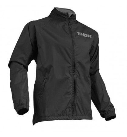 CHAQUETA  IMPERMEABLE PACK THOR S9_NEGRO