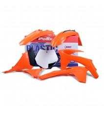 KIT PLASTICA POLISPORT EXC/EXC-F(12-13) XC/XC-F(11) SX(11) Color Original
